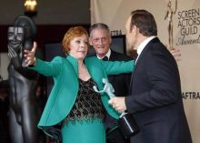 Carol Burnett and Kevin Spacey