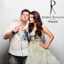 Aishwarya Rai Bachchan and Dabboo Ratnani