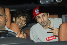 Aditya Roy Kapur and Ranbir Kapoor