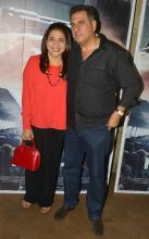 Zenobia Irani and Boman Irani at Neerja's screening