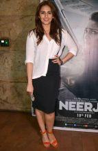 Huma Qureshi at Neerja screening