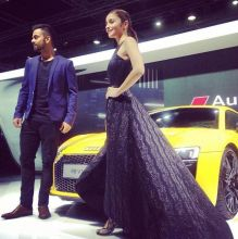 Alia Bhatt at Auto Expo