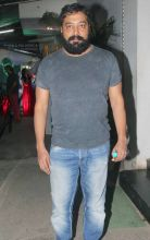 Anurag Kashyap at the screening of Aligarh
