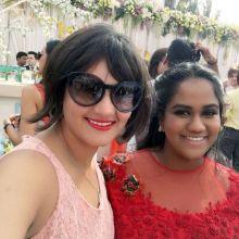 Shweta Rohira at Arpita Khan's baby shower