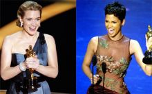 Kate Winslet and Halle Berry