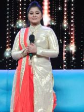 """Sudha Chandran was left teary-eyed after the act. """"These kids played the part with so much honesty that it made me reminisce and relive the situations I've been through."""""""
