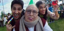 Sidharth Malhotra, Rishi Kapoor and Ratna Pathak in a still from Kapoor and Sons