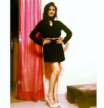 Sriti likes to turn into a fashionista, when she is not reading or travelling. Here, she rocks a LBD.