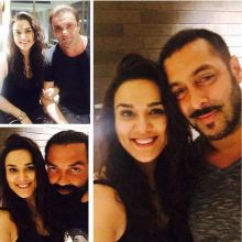 Preity Zinta with Salman Khan