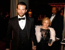 Bradley Cooper with his mother Gloria Campano