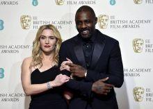 Kate Winslet and Idris Elba at BAFTA Awards