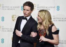 Eddie Redmayne and Kate Winslet at BAFTA Awards