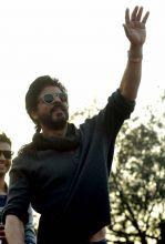 Shah Rukh Khan at Hansraj College
