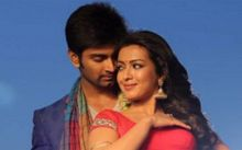 Atharvaa and Catherine in Kanithan