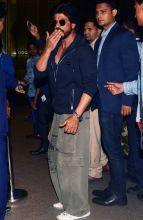 Shah Rukh Khan at the Mumbai Airport