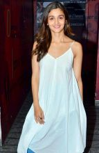 Alia Bhatt at the screening of Kapoor and Sons