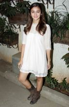 Alia Bhatt at the screening of Kapoor and Sons.
