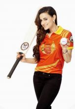 "Ameesha Patel is excited about the league. ""It is going to be great fun. The spirit and the format of the game come with a social message of gender equality and that's what attracts me to this league. Also I am a non-Punjabi but I am ready to dive int"