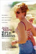 A poster of the film Erin Brockovich
