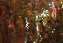 Widows in Vrindavan celebrate Holi