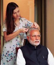 Narendra Modi at Madame Tussauds