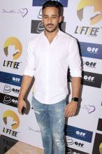 Anita Hassanandani's husband Rahul Reddy was also present at the event.