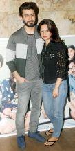 Fawad Khan and Sadaf Khan at the screening of Kapoor And Sons