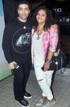 Karan Johar at the screening of Kapoor and Sons