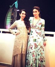 Karisma Kapoor and Kareena Kapoor Khan in Dubai