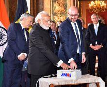 Prime Minister Narendra Modi in Brussels