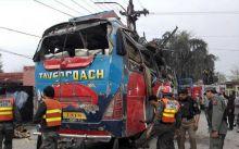 Peshawar bus bomb blast