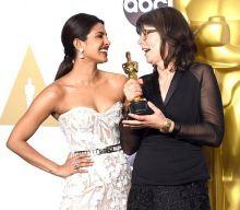 Priyanka Chopra (L) and Margaret Sixel
