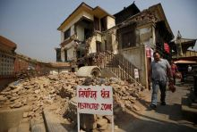 Nepal earthquake anniversary