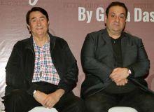 Randhir Kapoor (L) and Rajeev Kapoor