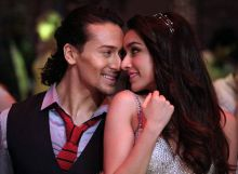 Tiger Shroff and Shraddha Kapoor in a still from Baaghi
