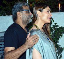 R Balki and Kareena Kapoor at Ki and Ka success bash