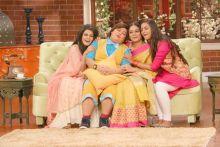 Bharti Singh with Thapki aka Jigyasa Singh, Anandi aka Toral Rasputra, and Meera Deosthale aka Chakor.