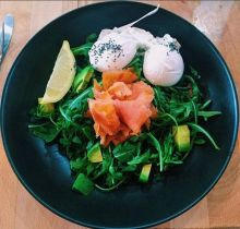 Poached eggs can be the perfect dressing for your healthy salads.