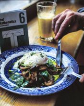 Poached eggs go well with everything.