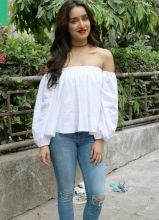 Shraddha Kapoor during the promotion of Baaghi