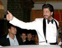 Shah Rukh Khan at the Royal Gala Dinner
