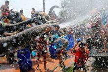 Songkran Festival celebrations in Bangkok