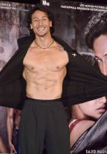 Tiger Shroff during the promotion of Baaghi