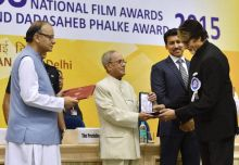 Amitabh Bachchan at 63rd National Awards