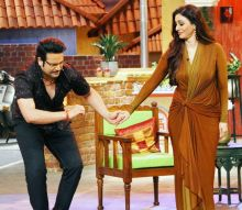 Comedy Nights Live host Krushna Abhishek with Tabu.