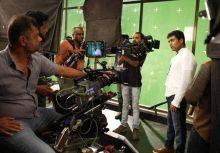 Suriya and Tirru at the sets of 24