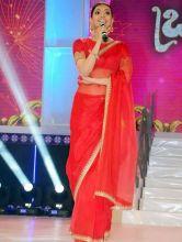 Kajal Aggarwal at Brhamotsavam audio launch
