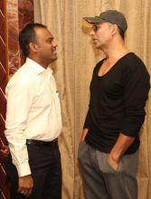 Akshay Kumar and at Enakku Inoru Per Irukku audio launch