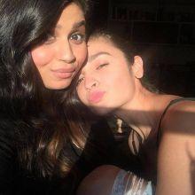 Alia Bhatt with sister Shaheen