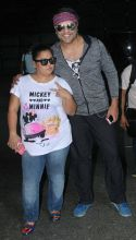We are rockstars: Bharti Singh and Krushna Abhishek look cool even in their no-makeup look.